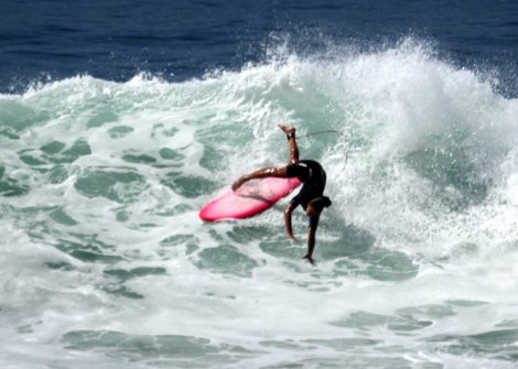 Pretty accurate picture of my surfing skill level at present...